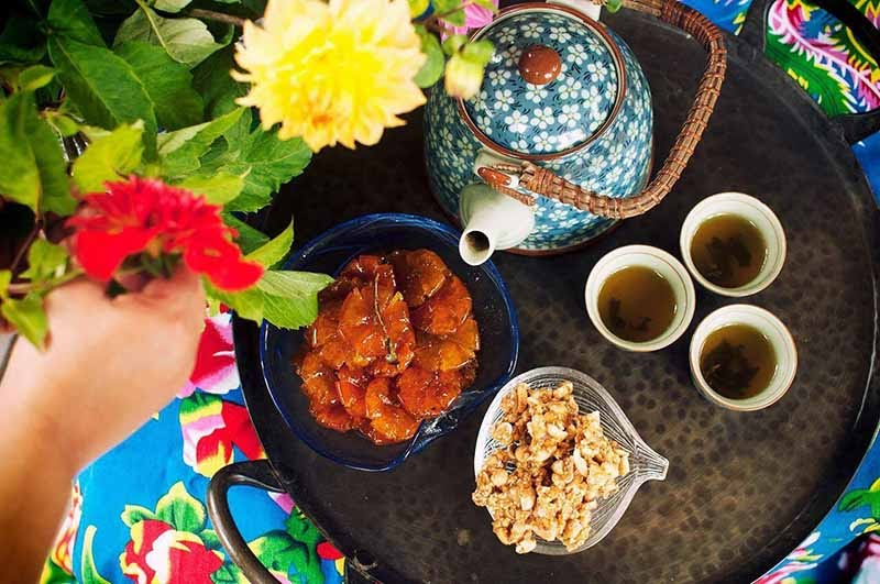 Người bị viêm âm đạo nên chọn các thực phẩm thanh đạm ăn trong dịp tết