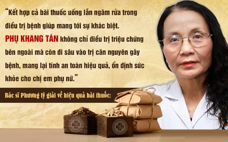 Thầy thuốc ưu tú Lê Phương nói gì về bài thuốc Phụ Khang tán