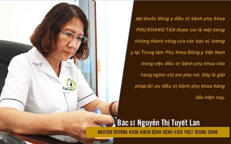 Nhận định của bác sĩ Tuyết Lan