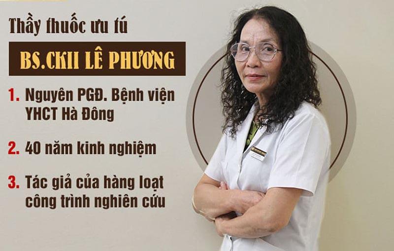 Bác sĩ Lê Phương chủ nhiệm đề tài nghiên cứu bài thuốc