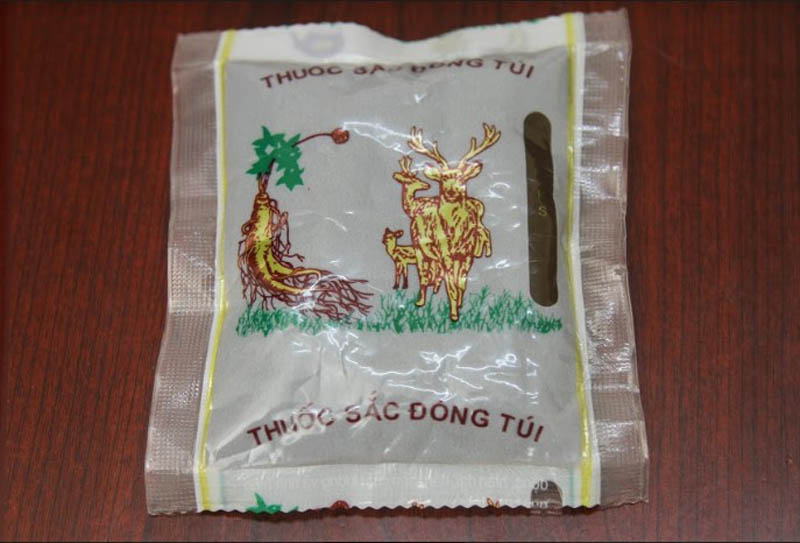 Thuốc đóng túi của Trung tâm Đông y