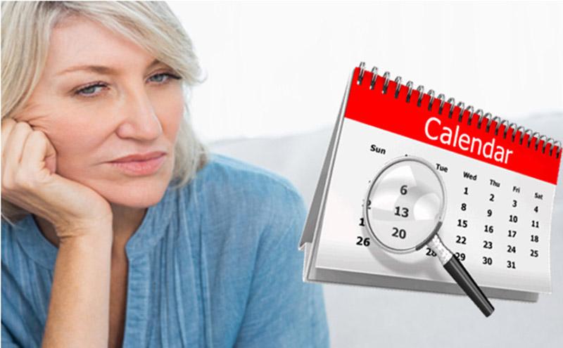 Rối loạn kinh nguyệt là triệu chứng điển hinh giai đoạn tiền mãn kinh