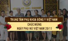 Trung tâm Phụ Khoa Đông y Việt Nam: Hàng trăm món quà ý nghĩa mang niềm hạnh phúc chúc mừng ngày 20/10 đến các chị em