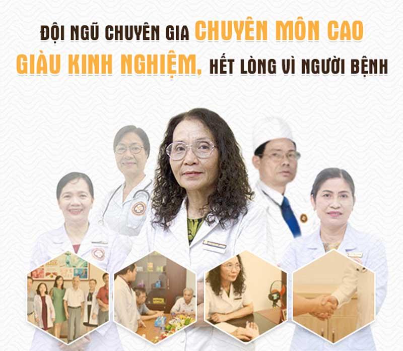 Trung tâm Phụ khoa Đông y Việt Nam hết mình vì người bệnh