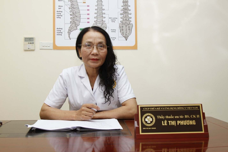 Bác sĩ Lê Phương - Giám đốc chuyên môn Trung tâm Đông y Việt Nam