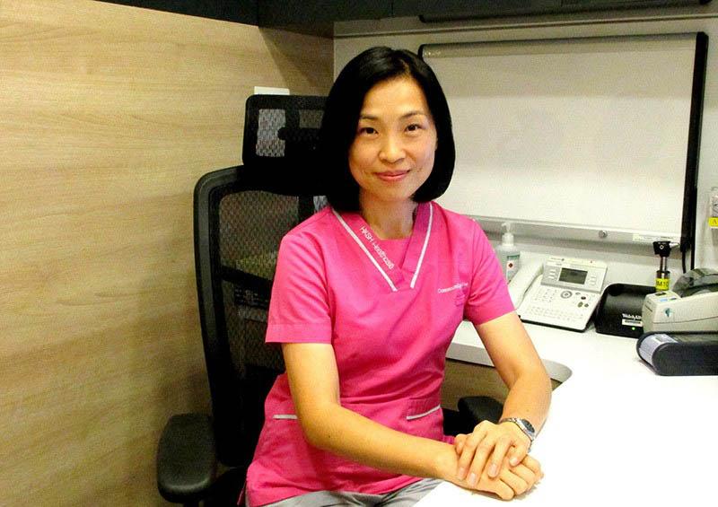 Chị Lan ở Hải Phòng, bệnh nhân u xơ tử cung tại Trung tâm Phụ khoa