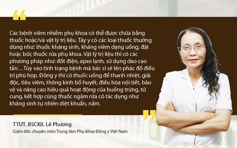 Chia sẻ bác sĩ Lê Phương