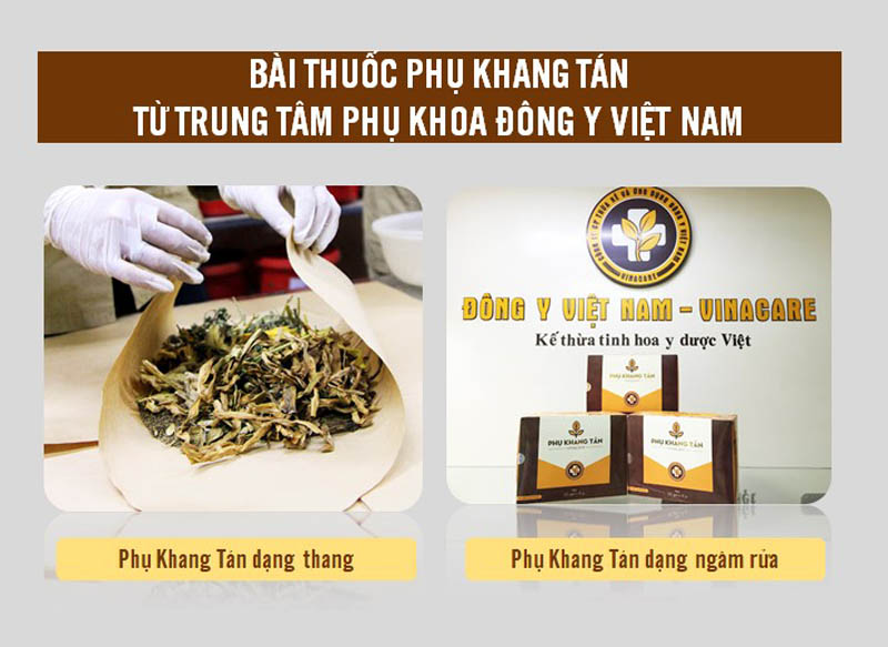 Phụ Khang Tán từ Trung tâm Phụ khoa Đông y Việt Nam