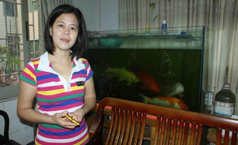 Chị Lương sau khi chữa khỏi bệnh tại trung tâm