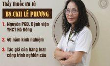 Bác sĩ Lê Phương: Nữ thầy thuốc hơn 40 kinh nghiệm chăm sóc sức khỏe nữ giới