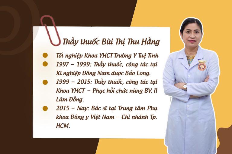 Chân dung Thầy thuốc chữa viêm phụ khoa Bùi Thị Thu Hằng