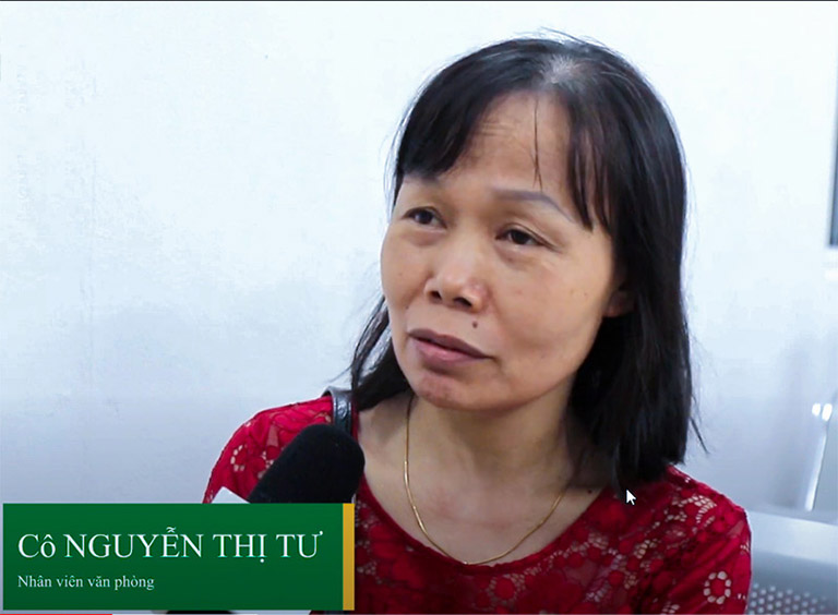 Bệnh nhân Nguyễn Thị Tư đã chữa khỏi viêm phụ khoa tại Trung tâm Phụ Khoa Đông y
