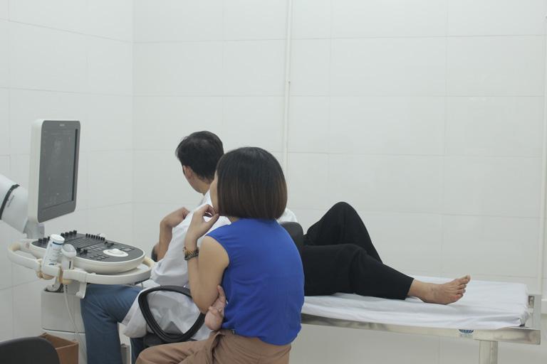 Siêu âm vùng bụng để phát hiện các bất thường tại cơ quan sinh sản
