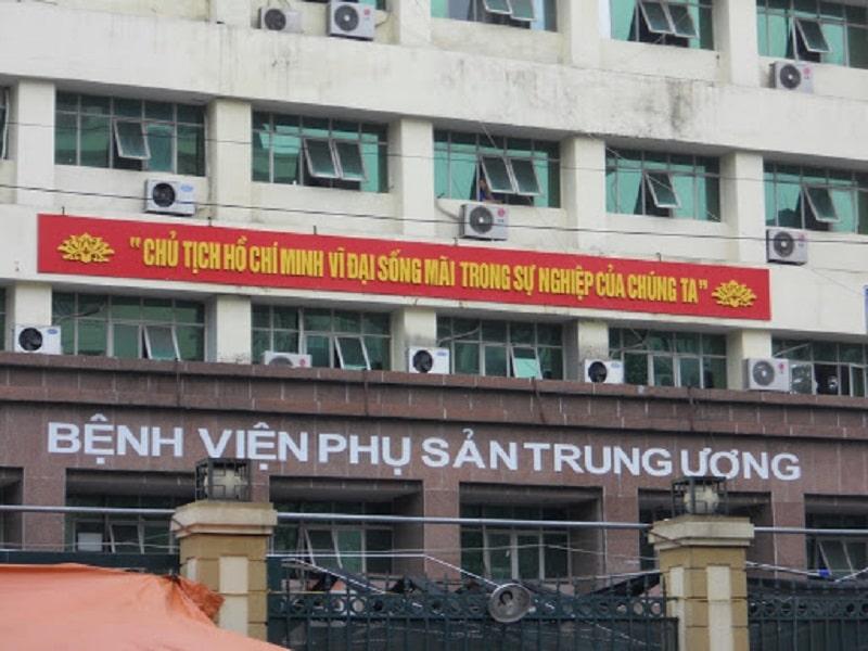 Bệnh viện Phụ sản Trung ương - Đơn vị thăm khám uy tín nhất hiện nay