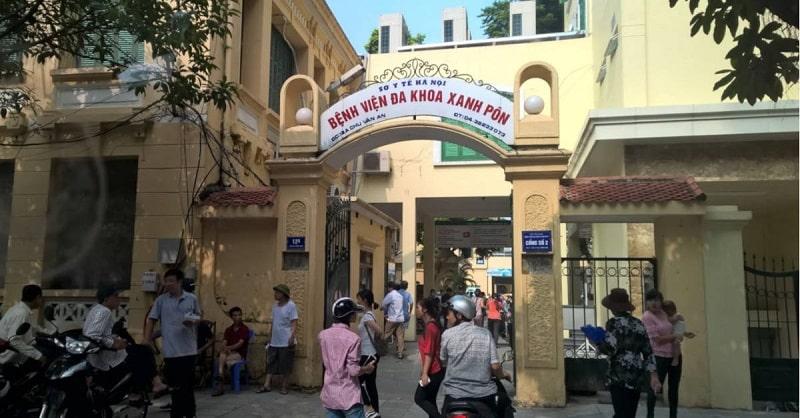 Chữa viêm âm đạo ở bệnh viện Xanh Pôn