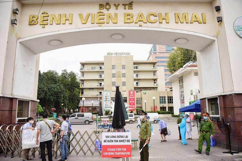 Bệnh viện Bạch Mai cũng là địa chỉ chữa viêm đạo ở Hà Nội