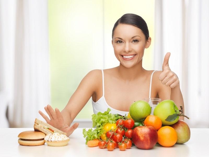 Chế độ ăn uống đóng vai trò rất quan trọng sau đốt