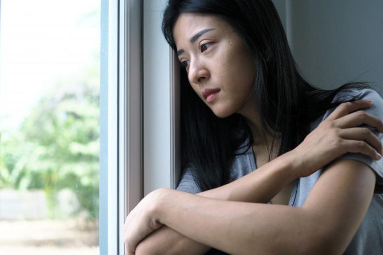Chị Trà Giang chán nản với tình trạng bệnh tình của bản thân