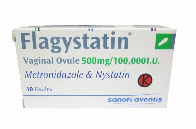 Flagystatin được sử dụng với bệnh nhân viêm lộ tuyến giai đoạn 1 và 2
