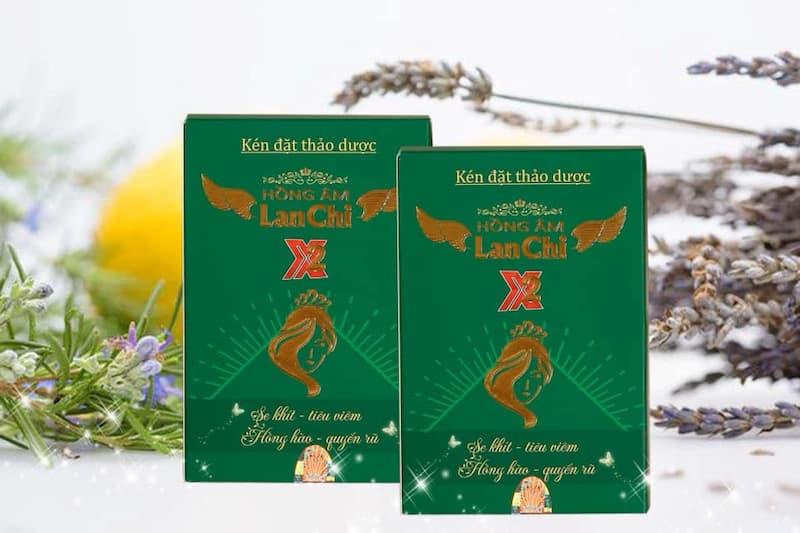 Hồng Ân Lan Chi là thuốc đặt viêm lộ tuyến của Việt Nam