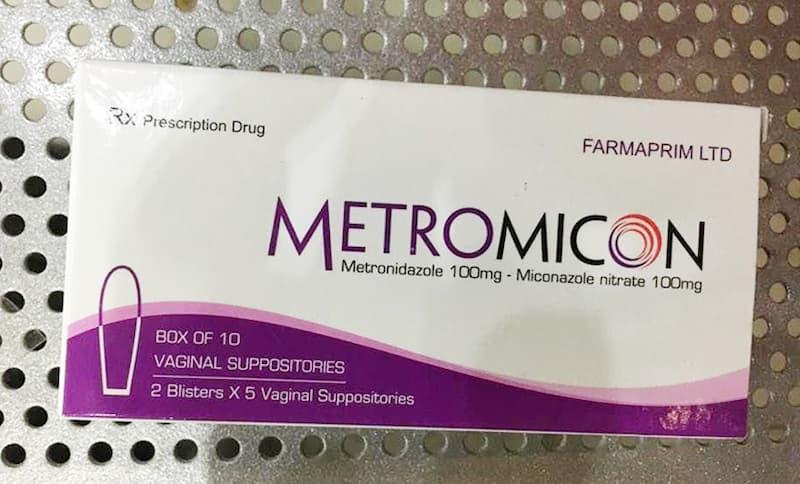 Thuốc đặt Metromicon là sản phẩm được nhiều chị em ưa chuộng và tin dùng