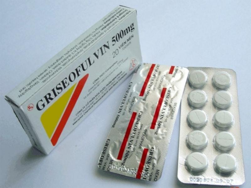 Griseofulvin có tác dụng chống nấm, được dùng để điều trị các bệnh nhiễm trùng do nấm
