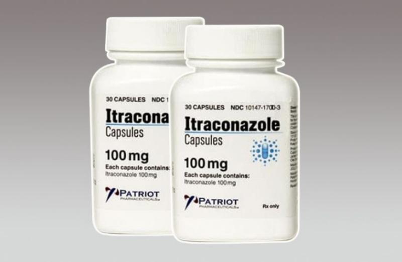 Thuốc chữa viêm lộ tuyến Itraconazole giúp hạn chế sự phát triển của các loại nấm