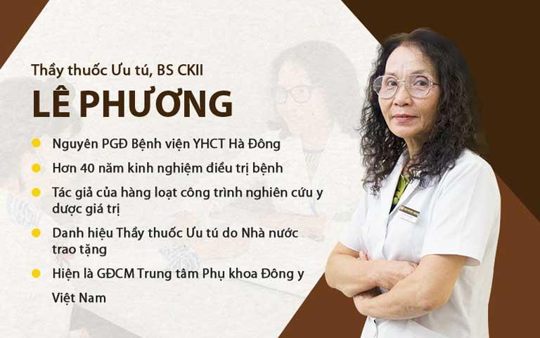 Tiểu sử bác sĩ Phương