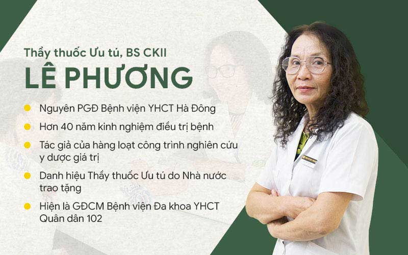 Thầy thuốc ưu tú Lê Phương điều trị viêm lộ tuyến bằng y học cổ truyền