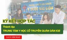Quân Dân 102 ký kết với Phòng khám Đa khoa Y dược Sài Gòn (Hóc Môn, TP.HCM)