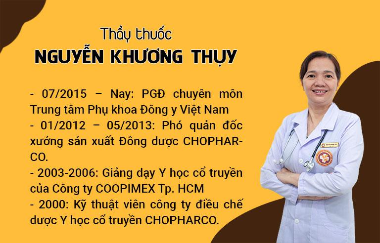 Chân dung Thầy thuốc Nguyễn Khương Thụy