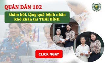 Chuyến thiện nguyện tại Thái Bình