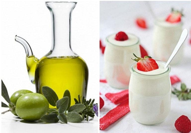Sữa chua và dầu ô liu giúp tăng cường hệ miễn dịch.