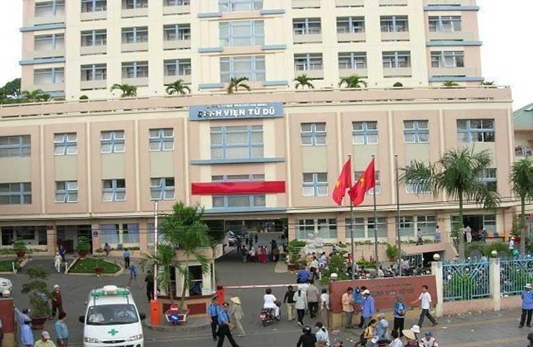 Bệnh viện Từ Dũ là một bệnh viện hàng đầu khu vực phía Nam.