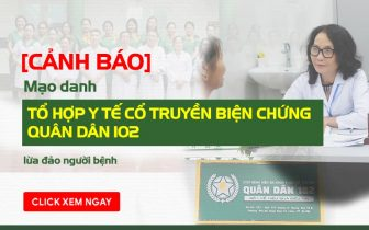 Mạo danh Tổ hợp y tế cổ truyền biện chứng Quân Dân 102