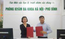 Ký kết hợp tác giữa Tổ hợp y tế cổ truyền biện chứng Quân Dân 102 và phòng khám Đa khoa Hà Nội – Phú Bình (Thái Nguyên)