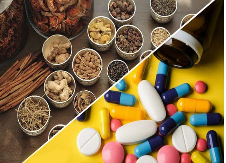 Có thể dùng kết hợp Đông y với thuốc Tây nhưng cần thận trọng