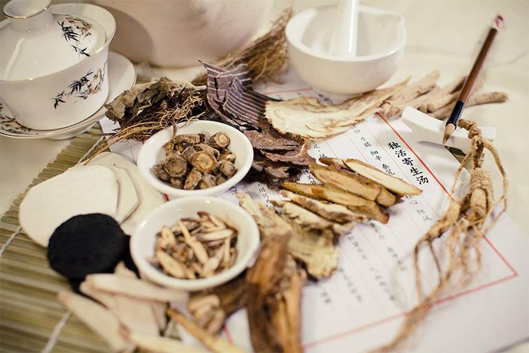 Thuốc Đông y chữa nấm