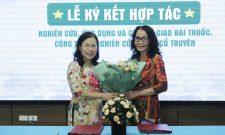 Hợp tác nghiên cứu, chuyển giao các bài thuốc, công trình nghiên cứu YHCT giữa TT Phụ khoa Đông y Việt Nam và Viện Nghiên cứu & Phát triển Y dược học cổ truyền dân tộc