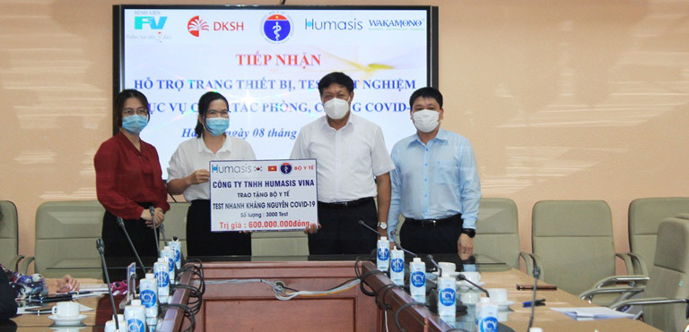 Bộ Y tế nhận hỗ trợ xét nghiệm covid-19