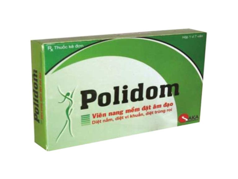 Thuốc trị nấm âm đạo Ấn Độ Polidom