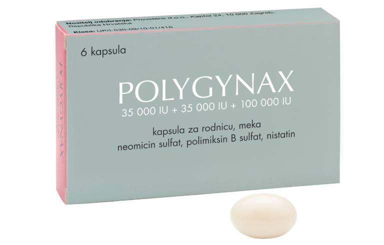 Thuốc đặt âm đạo trị nấm Polygynax