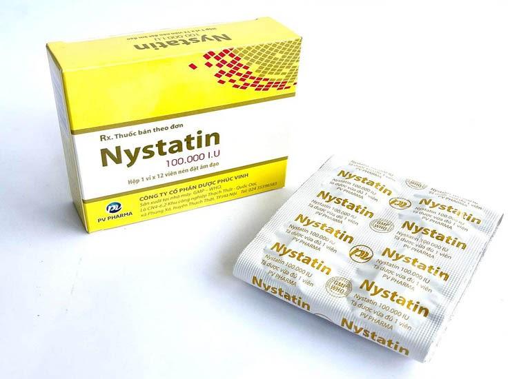 Thuốc đặc trị bệnh khí hư Nystatin