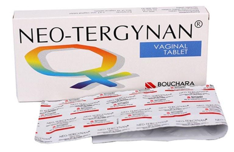Viên đặt âm đạo trị huyết trắng Neo Tergynan