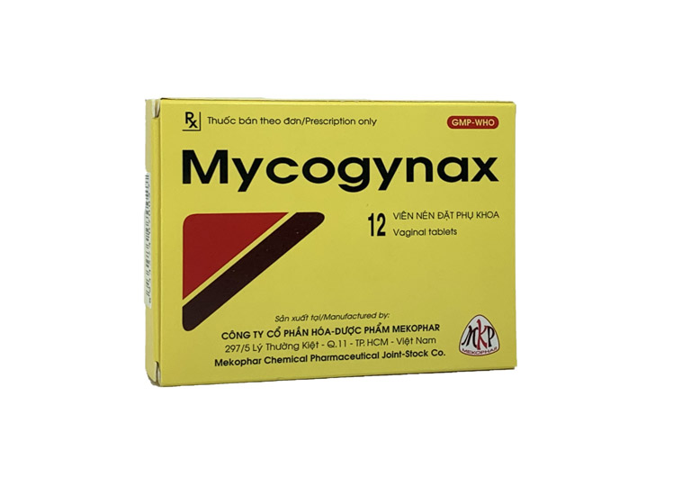 Thuốc đặt âm đạo trị huyết trắng Mycogynax