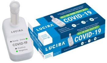 Thiết bị của Lucira cho phép mọi người tự kiểm tra và nhận kết quả Covid-19 tại nhà trong vòng 30 phút.