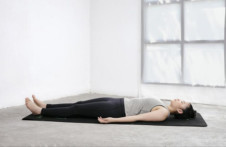 Tư thế thư giãn giúp duy trì được trạng thái cân bằng trong tâm lý và cơ thể
