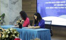 Ký kết hợp tác chuyển giao công nghệ, kỹ thuật ứng dụng trong xét nghiệm chẩn đoán giữa Bệnh viện Favina và Trung tâm Phụ khoa Đông y Việt Nam